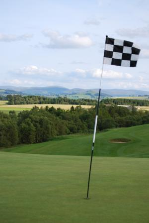 Carnwath golf course and Tinto